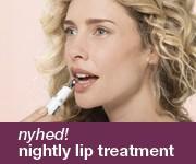 Sig godnat til fine linjer omkring læberne