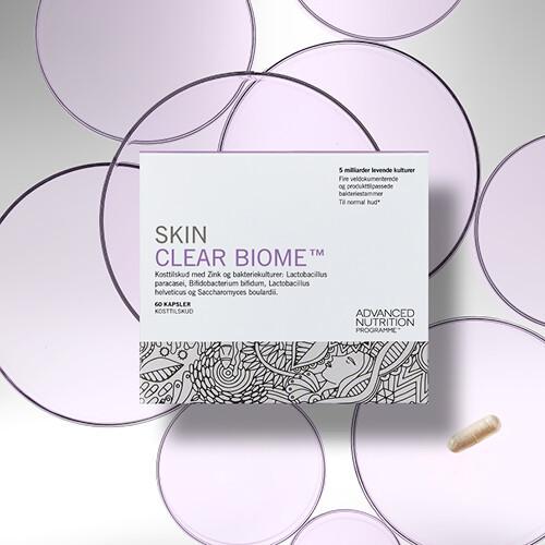 SKIN CLEAR BIOME - Mave-venlige bakterier til problemhud